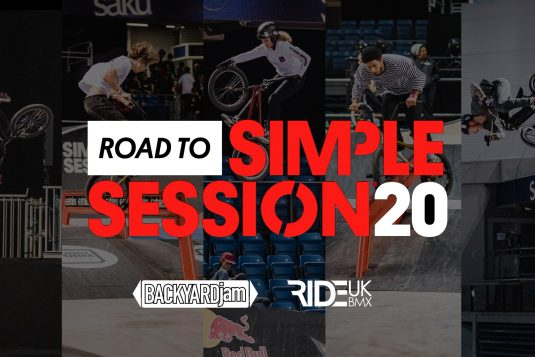 ride uk bmx road to simple session 2020